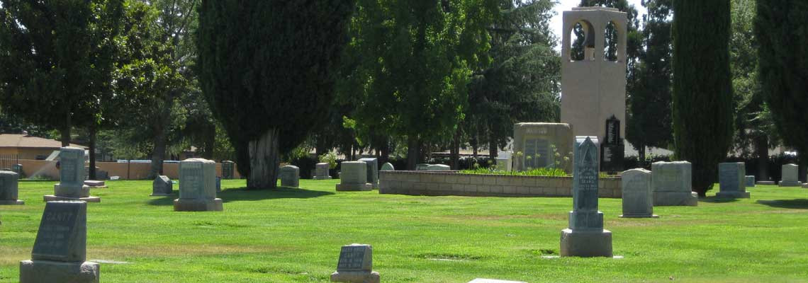 Picture of Ground Markers at Summit Cemetery District.